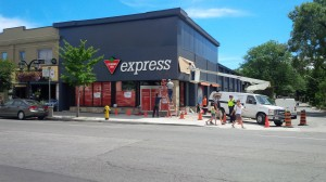 The New Canadian Tire Express store at Pape and Danforth - Smart Strategy