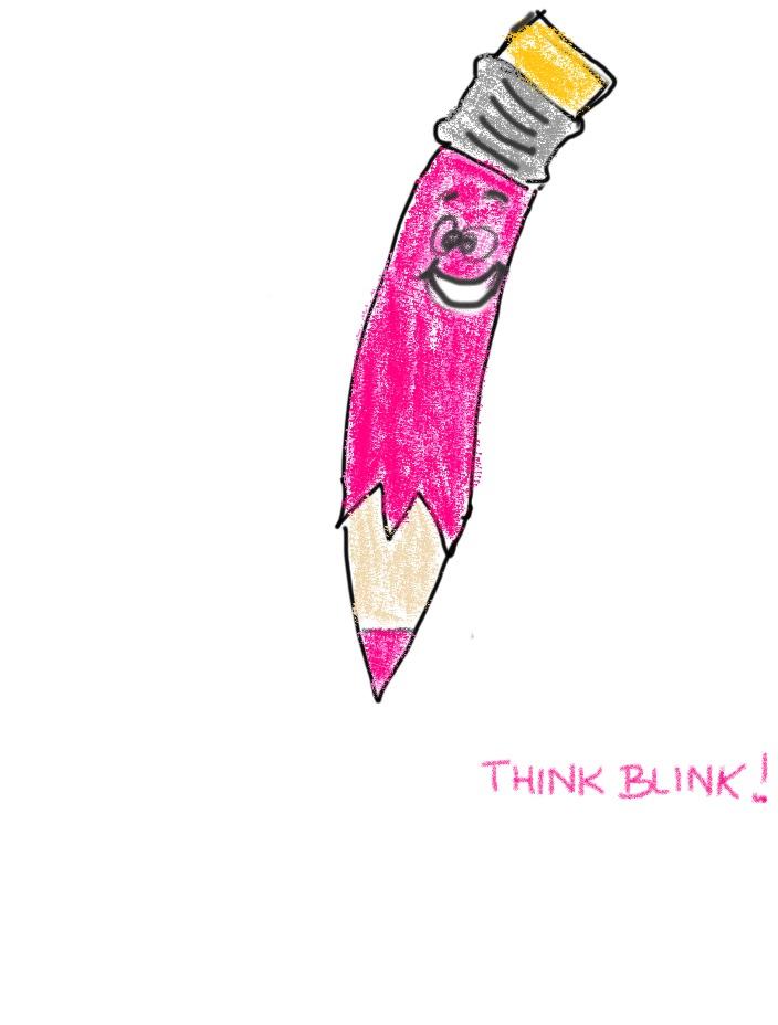 Creative Pink Pencil